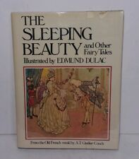 The Sleeping Beauty And Other Fairy Tales Edmund Dulac Hardcover 1978
