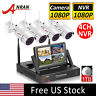 ANRAN Home Security Camera System Wireless Outdoor with 1TB HDD 1080P 4CH NVR HD