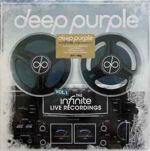 Deep Purple – The Infinite Live Recordings Vol 1 vinile 3 lp nuovo sigillato