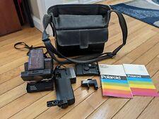 Polaroid SX-70 Sonar Land Camera sears special w/ case flash mount manual