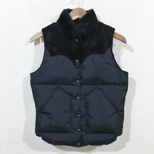 Rocky Mountain Boa Mutton Suede Christie Best Down Vest Black 7/8 [Used] [Men's]
