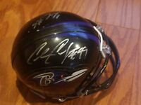 chris canty autographed mini helmet NO BOX signed baltimore ravens nfl football