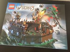 Lego Vikings Fortress against the Fafnir Dragon Instruction Manual ONLY 7019