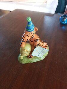 "Royal Doulton - Disney WP65 Winnie the Pooh - Tigger's Birthday Surprise-4.5"""