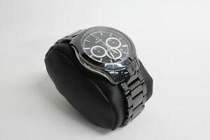 RADO Men's Hyperchrome Black Stainless Steel Analogue Quartz Watch 658.0961.3