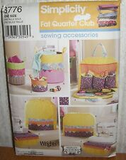 Crafts Sewing Accessories Machine Covers Bags Sewing Pattern/Simplicity 3776/UCN