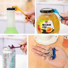 Lots 3Pcs Bottle Opener Key Ring Chain Keyring Keychain Metal Beer Bar Tool Claw