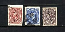 Mexico stamps #167, 169 & 170, mint & used, Scv $42.00