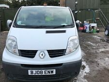 2008 RENAULT TRAFFIC DOUBLE CAB PANEL VAN 6 SPEED MANUAL DIESEL*NO KEY
