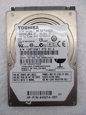 "Toshiba | Laptop HDD | MK3276GSX | Hard Disk Drive | 2.5"" | 320GB"