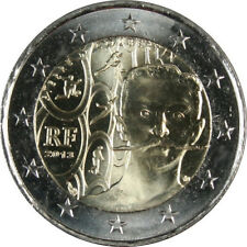 Francia 2013 - 2 Euro Comm - 150º anniversario di Pierre de Coubertin (UNC)