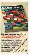 Publicité Advertising 1974 Le Catalogue Manufrance
