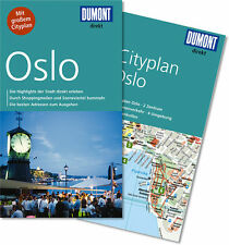 DuMont direkt Reiseführer m. großem Cityplan Oslo UNBENUTZT statt 9.99 nur