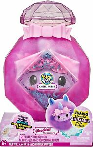 Pikmi Pops Cheeki Puffs Jumbo Scented Shimmer Plush - Cheekles The Unicorn