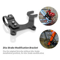 Bicycle Disc Brake Modification Bracket Frame Adapter Mounting Holder Stainless