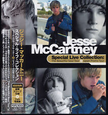 JESSE McCARTNEY-Special Live Collection Rare Japan CD+DVD 2Disc Set