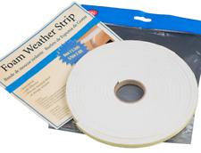 5.5m Foam Weather Strip Window Door Draft Draught Excluder Insulation Flat Roll