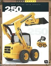 Equipment Brochure - John Deere - 250 - Skid Steer Loader - c1998 (E2361)