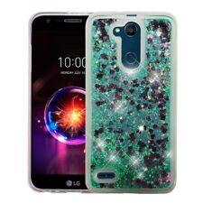 for LG X Power 3 Quicksand Liquid Glitter Skin Lightweight Case Cover+PryTool