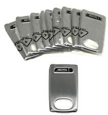 i830 Battery Door Cover Nextel Motorola Ntn2110 Silver (Lot of 10)
