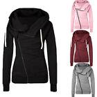 Womens Ladies Hoodie Long Sleeve Sweatshirt Sweater Casual Hooded Coat Pullover