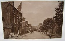 MUCH WENLOCK BARROW STREET ANTIQUE POSTCARD SHROPSHIRE Nr.SHREWSBURY*