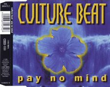 CULTURE BEAT  Pay No Mind  6x  CD Maxi Single  1998  Germany  KiM SANDERS