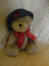 """Boyds ALICE B. PATCHBEARY ~ 6"""" chenille ~ mint w/ tag"""
