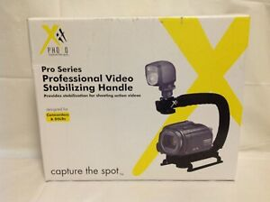 Xit XTVHGRIP Professional Video Grip (Black) For Camcorders & DSLRs - New
