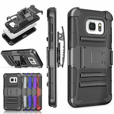 Samsung Galaxy S7 Edge Holster Swivel Belt Clip Case Full body Protective Cover