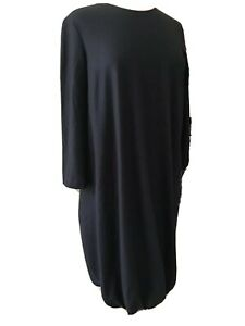 Jil Sander  Wool  Black  Dress ( 42  )