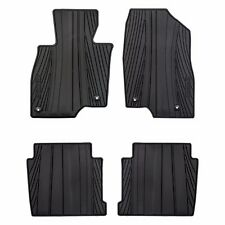 2014-2017 Mazda 6 All Weather Rubber Floor Mats Black OEM NEW 0000-8B-H70
