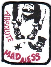 ABSOLUTE MADNESS vintage printed patch