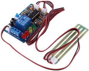 Liquid Level Controller Sensor Module,3 Color LED Water Level Indicator 5V Water