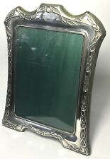 Solid Silver Carr's Of Sheffield Ltd Square Picture Photo Frame 436.2g 2000