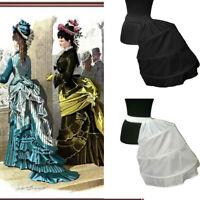 Vintage Victorian Edwardian Petticoat Cage Frame Half Bustle Dress Skirt Pannier