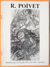 Raymond POÏVET recueil de 23 dessins de la collection LEFEVRE-VAKANA 1990 Poivet