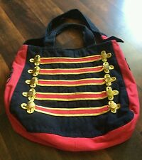 MICHAEL JACKSON TOTE BAG CIRQUE DU SOLEI BAG PRINCE RED DESIGN RARE USED