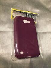 Amzer - Jelly silicone case - Samsung galaxy s2 Skyrocket HD - Purple