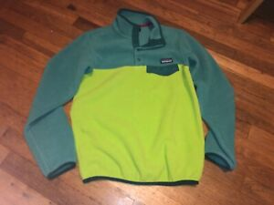 $119.99 EUC LOOKS NWOT Patagonia Womens XS Synchilla Snap T Fleece Pullover