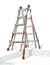 22 1A Revolution Little Giant Ladder with Ratchet Levelers 12022-801