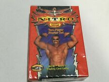 WCW NITRO Trading Card Game - 2-Player Starter Set + Slap Pack