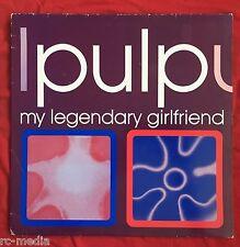 "PULP -My Legendary Girlfriend- Rare Fire Records 12"" single +Pic Sleeve (Vinyl)"