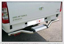 GREAT WALL STEED 2011 TUBO POSTERIORE INOX LUCIDO per mod.09 e 10  2/4 PORTE