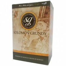 Solomon Grundy Wine Kit 7 Day Home Brew WineMaking Gold ZINFANDEL ROSE 30 BOTTLE