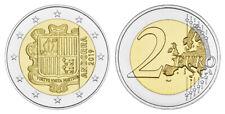 ANDORRA 2 EURO 2019 KURSMÜNZE BANKFRISCH