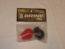 Brine 2 pack Lacrosse endos King logo Endo women's red black Nos New old stock