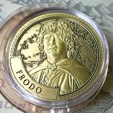 Frodo Baggins Lord Of The Rings Limited Edition 38mm Collectors Coin In Capsule