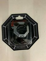 UFC Officially Licensed Pewter Pendant/Octagon Necklace New In Clamshell Package