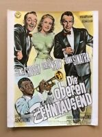 High Society /ob. Zehnt. (Titelkarte ´57) - Louis Armstrong Grace Kelly /Sinatra